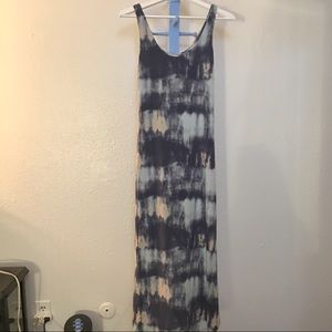 Tart tie dye maxi dress xs